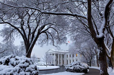 beautiful snow whitehousegov