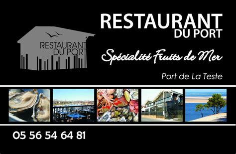restaurant du port la teste caf 233 restaurant du port 33260 la teste de buch pr 233 sentation