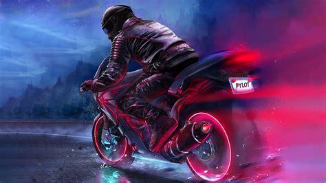 retro bike rider   resolution hd