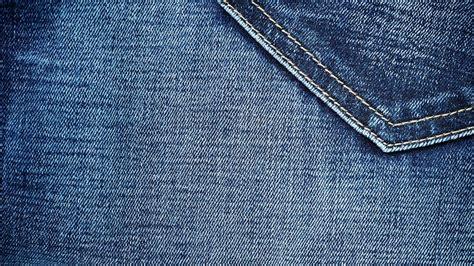 Closeup Detail Of Blue Denim Jeans, Texture Background