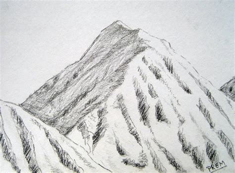 Simple Mountain Drawings Photo by prem simple sketches of mountains