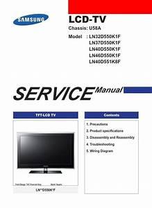 Samsung Ln32d550k1f Ln37d550k1f Ln40d550k1f Ln46d550k1f