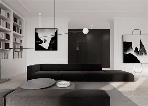 Monochrome Home  Interior Design Ideas