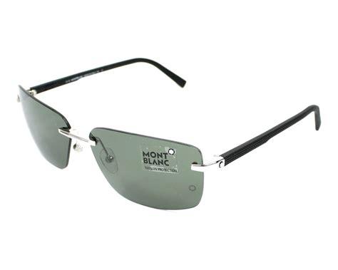 lunettes de soleil mont blanc mb465t 16n 64 visionet