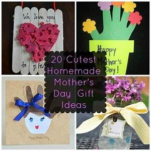 20 of the Cutest Homemade Mother's Day Gift Ideas ...