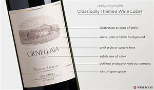 Design great custom wine labels with these tips wine folly for Classic wine labels