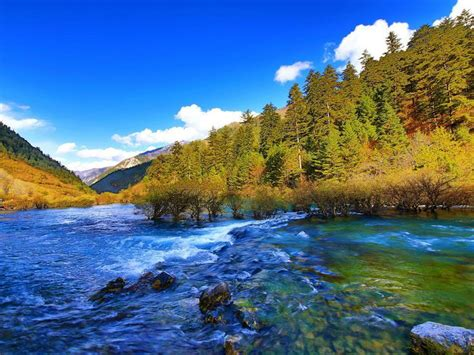 jiuzhai valley national park jiuzhaigou china mountain