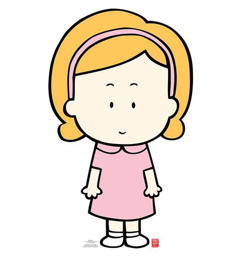 Cartoon Little Girls
