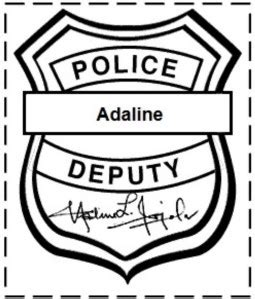 police badge craft for preschool officer crafts for national week 156
