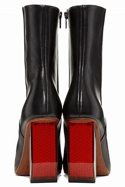Boots Heel Vetements