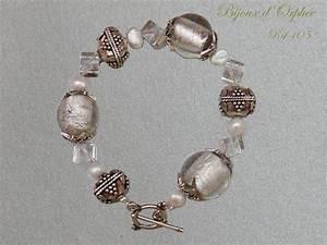 creation bracelet fantaisie bracelet perles argent photo With création bijoux fantaisie
