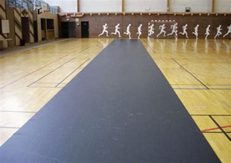tapis de protection de sol sportif de gymnase rouleau de sol pvc pour la protection de sol pvc