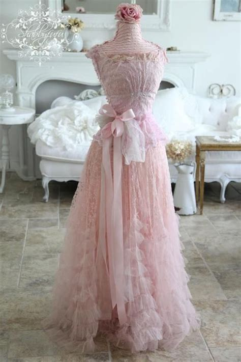 shabby chic wedding guest attire pink shabby and pink vintage dresses on pinterest
