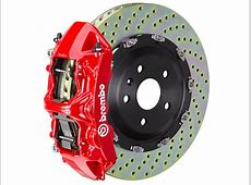 Brembo Mustang GT Series 6Piston Front Brake Kit 15 in