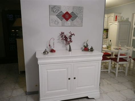 Meuble Ancien Repeint En Blanc by Buffet Repeint En Blanc Photo 3 6 3502396