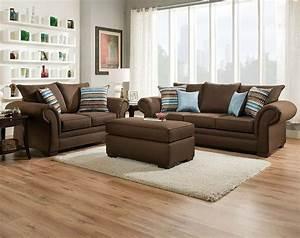 Braunes Sofa Welche Wandfarbe : braune sofas abschluss design wohnzimmer mit parkettboden ~ Watch28wear.com Haus und Dekorationen