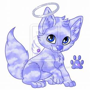 Anime Wolf Pup With Wings | www.pixshark.com - Images ...