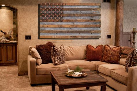 Barnwood American Flag, Year Old Wood, One Of A Kind