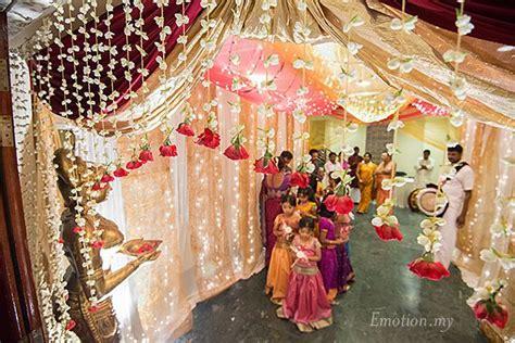 hindu telugu wedding ceremony at bangunan peladang praveen megala wedding photographer