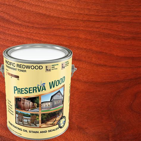 Home Depot Redwood Stain