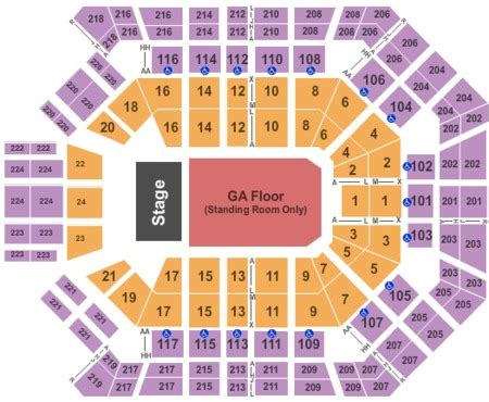 Mgm Grand Arena Floor Plan by Mgm Grand Garden Arena Tickets Mgm Grand Garden Arena In