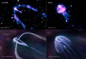 Space Jellyfish Show Types Of Pulsar Wind Nebulas ...