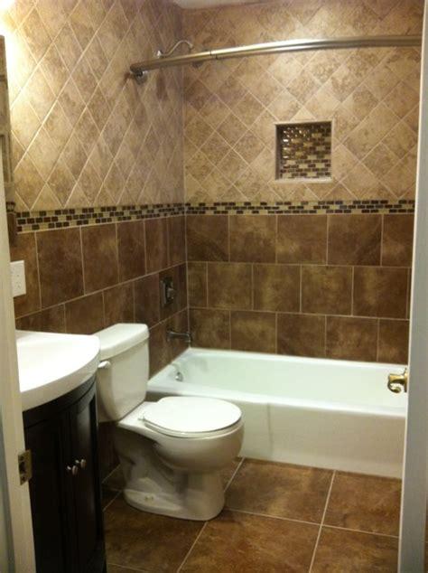 floor to ceiling tile bath traditional bathroom