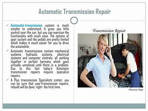 Automatic And Manual Transmission Repair Guide
