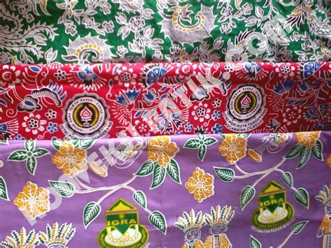 konveksi batik seragam sekolah paud sd smp sma