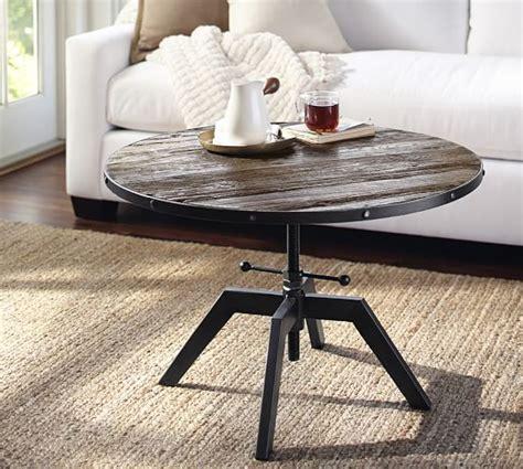 Blaine Reclaimed Wood Adjustable Bunching Coffee Table