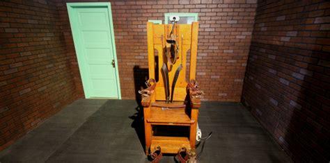 chaise de electrique peine de mort aux usa bientôt le retour de la chaise