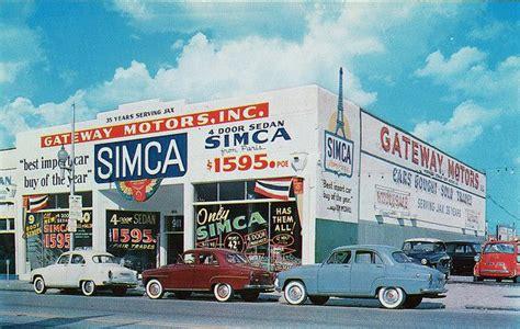 gateway motors  simca dealership  jacksonville