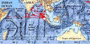 Ocean Floor Map Of North Indian Ocean With Tsunami