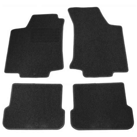 4 tapis de sol en moquette velours sur mesure pour peugeot 5008