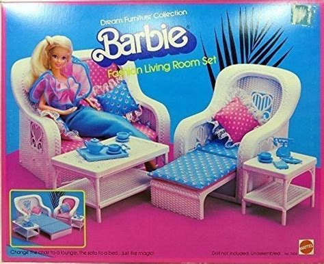 barbie fashion living room set dream furniture 7404