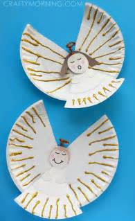 Easy Paper Plate Angel Craft