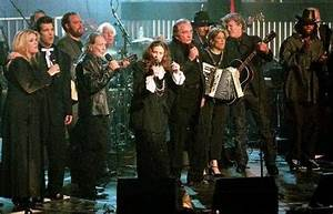 Johnny Cash and June Carter Cash in New York in 1999