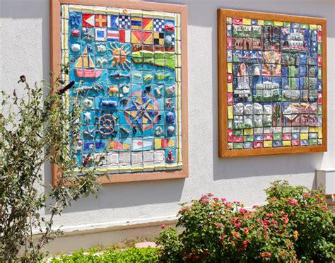 America The Beautiful Ceramic Tile Mural
