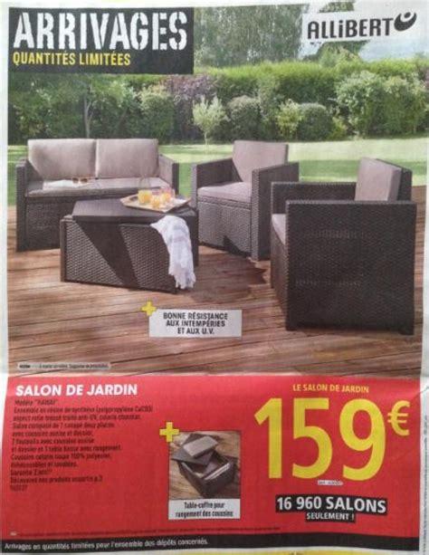 Salon de jardin hawai allibert  1 canapu00e9 + 2 fauteuils + 1 table Brico Depot Salon De Jardin ...