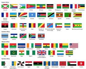 Name African Countries Flags