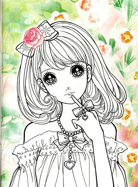 imagenes kawaii  dibujos  colorear colorear imagenes