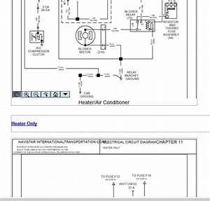 International 8100 Fuse Box Diagram