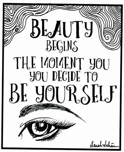 Yourself Coloring Colouring Quotes Houses