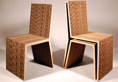 Student Designers Win Corrugated Chair Competition