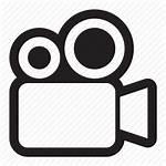 Icon Camera Movie Film Recording Transparent Clipart