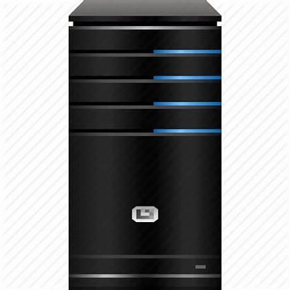 Server Icon Host Pc Hardware Transparent Computer