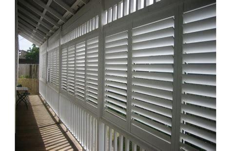 outdoor aluminium plantation shutters external into blinds