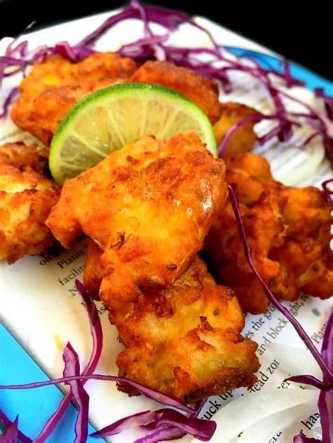 amritsari fish pakora indian style glutenfree fish fritters