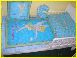 new toddler crib bedding set made in blue tinkerbell with