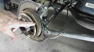 Parking Brake Shoe Replacement